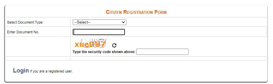 edistrict delhi citizen registration